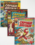 Magazines:Superhero, Captain Britain Group of 23 (Marvel, 1976-77) Condition: Average VF.... (Total: 23 Comic Books)
