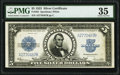 Large Size:Silver Certificates, Fr. 282 $5 1923 Silver Certificate PMG Choice Very Fine 35.. ...