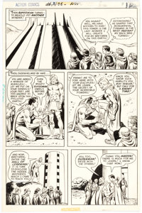 Curt Swan and Murphy Anderson Action Comics #406 Story Page 12 Original Art (DC Comics, 1971)