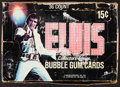 Non-Sport Cards:Unopened Packs/Display Boxes, 1978 Donruss Elvis Display Box With 36 Wax Packs....