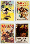Books:Hardcover, Edgar Rice Burroughs Vintage Tarzan Hardcover Editions Group of 10 (Various, 1919-52).... (Total: 10 Items)