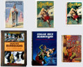 Books:Hardcover, Edgar Rice Burroughs Vintage John Carter of Mars Hardcover Editions Group of 6 (Various, 1920-2009).. ... (Total: 6 Items)