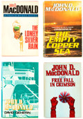 Books:Hardcover, John D. MacDonald Hardcover Editions Group of 11 (Various, 1978-85).... (Total: 11 Items)