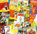 Memorabilia:Comic-Related, Comic Book and Newspaper Strip Reprints Short Box Group (Various Publishers, 1956-2002) Condition: Average VF....