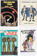 Books:Hardcover, Science Fiction Hardcover Editions Box Lot (Various, 1948-67)....