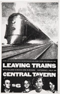 """Music Memorabilia:Posters, Nirvana/Leaving Trains/Blood Circus 11"""" x 17"""" Central Tavern Concert Poster (1988)...."""