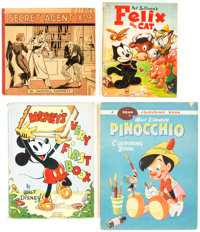 Comic Books - Assorted Platinum to Golden Age Group of 4 (Various Publishers, 1934-55) Condition: Average VG+.... (Total...