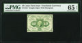 Fr. 1242 10¢ First Issue PMG Gem Uncirculated 65 EPQ