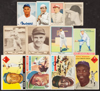 1909-1956 T206, Goudey, Diamond Stars, Topps, Bowman and More Baseball Collection (40)