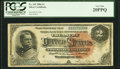 Large Size:Silver Certificates, Fr. 242 $2 1886 Silver Certificate PCGS Very Fine 20PPQ.. ...