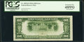 Error Notes:Inverted Reverses, Fr. 2055-B $20 1934A Federal Reserve Note. PCGS Extremely Fine 45PPQ.. ...