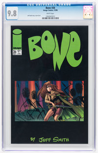 Bone #26 (Image, 1996) CGC NM/MT 9.8 White pages