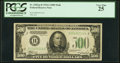 Small Size:Federal Reserve Notes, Fr. 2202-B $500 1934A Federal Reserve Note. PCGS Very Fine 25.. ...