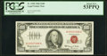 Small Size:Legal Tender Notes, Fr. 1550 $100 1966 Legal Tender Note. PCGS About New 53PPQ.. ...