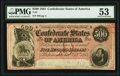 T64 $500 1864 PF-1 Cr. 489A PMG About Uncirculated 53