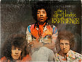 Music Memorabilia:Autographs and Signed Items, Jimi Hendrix Signed Back Cover of Electric Ladyland Souvenir Booklet With Sheet Music and Photos....