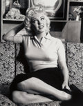 Photographs, Irving Haberman (American, 1916-2003). Marilyn Monroe, Interviewing with CBS (2 works), circa 1955. Digital pigment prin... (Total: 2 )