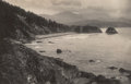 Photographs, Maud Ainsworth (American, 1874-1962). Ecola, Oregon Coast, 1900. Platinum print. 6 x 9-1/4 inches (15.2 x 23.5 cm). Sign...