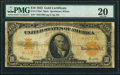 Large Size:Gold Certificates, Fr. 1173* $10 1922 Mule Gold Certificate PMG Very Fine 20.. ...