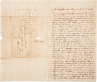 Henry Aleard Gold Rush Autograph Letter Signed