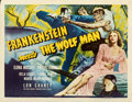 Movie Posters:Horror, Frankenstein Meets the Wolf Man (Universal, 1943). Very Fi...