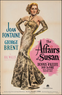 "The Affairs of Susan (Paramount, 1945). Folded, Very Fine-. One Sheet (27"" X 41""). Comedy"