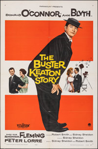 """The Buster Keaton Story (Paramount, 1957). Folded, Very Fine. One Sheet (27"""" X 41""""). Comedy"""