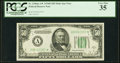 Small Size:Federal Reserve Notes, Fr. 2106-A* $50 1934D Federal Reserve Note. PCGS Very Fine 35.. ...