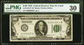 Small Size:Federal Reserve Notes, Low Serial Number 625 Fr. 2150-H* $100 1928 Federal Reserve Note. PMG Very Fine 30.. ...