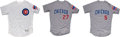 Baseball Collectibles:Uniforms, 2017-18 Addison Russell, Mike Montgomery & Albert Almora Game Worn Chicago Cubs Jerseys Lot of 3 - MLB Authentic. ...