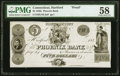 Hartford, CT- Phoenix Bank $5 183_ UNL Proof PMG Choice About Unc 58