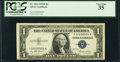 Small Size:Silver Certificates, Low 4 Serial Fr. 1614 $1 1935E Silver Certificate. PCGS Very Fine 35.. ...