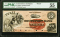 Obsoletes By State:Connecticut, Southport, CT- Southport Bank $3 18__ as G6a Proof PMG About Uncirculated 55.. ...