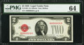 Small Size:Legal Tender Notes, Low 26 Serial Fr. 1501 $2 1928 Legal Tender Note. PMG Choice Uncirculated 64.. ...