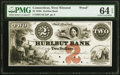 Obsoletes By State:Connecticut, West Winsted, CT- Hurlbut Bank $2 18__ as G4 Proof PMG Choice Uncirculated 64 EPQ.. ...