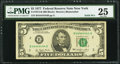 Solid 4 Serial Fr. 1974-B $5 1977 Federal Reserve Note. PMG Very Fine 25
