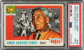 Football Cards:Singles (1950-1959), 1955 Topps Amos Alonzo Stagg #38 PSA Mint 9 - None Higher....