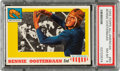 Football Cards:Singles (1950-1959), 1955 Topps Bennie Oosterbaan #80 PSA NM-MT 8 - Only Three Higher....