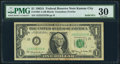 Small Size:Federal Reserve Notes, Solid 2 Serial Fr. 1901-J $1 1963A Federal Reserve Note. PMG Very Fine 30.. ...