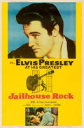 "Movie Posters:Elvis Presley, Jailhouse Rock (MGM, 1957). Fine+ on Linen. Poster (40"" X 60"") Style Y. Bradshaw Crandell Artwork.. ..."
