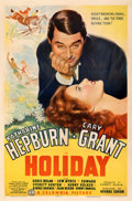 """Movie Posters:Comedy, Holiday (Columbia, 1938). Fine+ on Linen. One Sheet (27"""" X 41"""") Style B. From the Mike Kaplan Collection.. ..."""