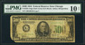 Fr. 2201-G $500 1934 Binary Serial Number Federal Reserve Note. PMG Very Good 10 Net