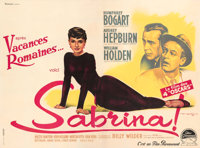 """Sabrina (Paramount, 1954). Fine+ on Linen. French Four Panel (123"""" X 91.5"""") Roger Soubie Artwork. From the Mik..."""