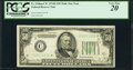 Fr. 2106-C* $50 1934D Federal Reserve Note. PCGS Very Fine 20
