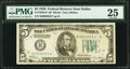 Small Size:Federal Reserve Notes, Fr. 1950-K* $5 1928 Federal Reserve Note. PMG Very Fine 25.. ...