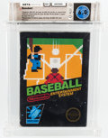 Video Games:Nintendo, Baseball [Hangtab, 1 Code, Mid-Production] Wata 6.0 CIB NES Nintendo 1985 USA....