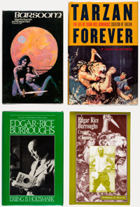 Edgar Rice Burroughs-Related Books and Ephemera Box Lot (Various, 1918-2000).... (Total: 2 Box Lots)
