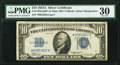 Small Size:Silver Certificates, Late Finished Face Plate 86 Fr. 1702* $10 1934A Silver Certificate. PMG Very Fine 30.. ...