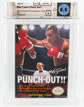Video Games:Nintendo, Mike Tyson's Punch-Out!! [Oval SOQ TM, Later Production] Wata 8.5 A Sealed NES Nintendo 1987 USA....