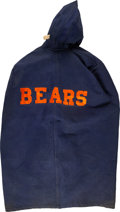 Football Collectibles:Uniforms, 1940's George McAfee Game Worn Chicago Bears Sideline Cape. ...